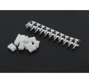 10 connecteurs femelles JST PH 2 pts 2 mm