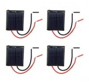 4 cellules solaires C0138