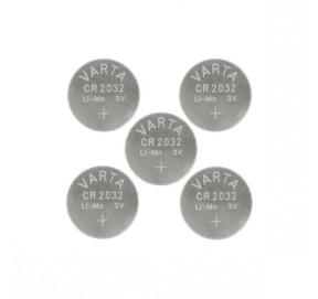 5 piles Varta CR2032