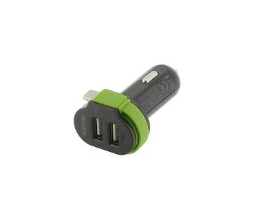 Adaptateur allume-cigare USB CH024BL