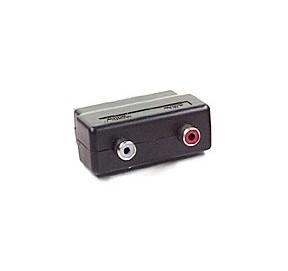 Adaptateur péritel/RCA - 2 RCA audio (in)