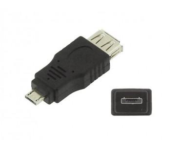 Adaptateur USB A femelle - Micro USB A mâle