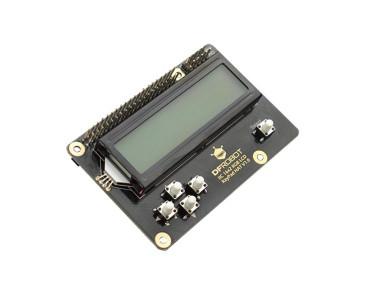 Afficheur LCD I2C 2x16 HAT DFR0514
