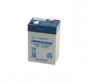 Batterie au plomb 6V 4,5Ah