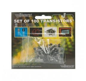 Blister de 100 transistors