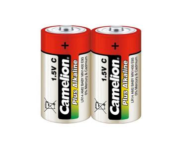 Blister de 2 piles alcalines R14 (C)