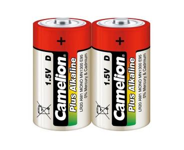 Blister de 2 piles alcalines R20 (D)