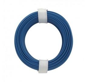 Fil de câblage bleu 10m x 0,14mm² FC14B