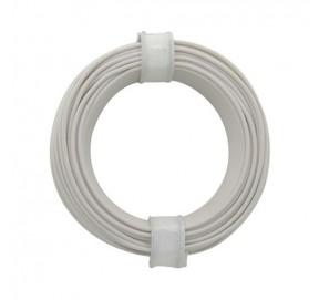 Fil de câblage blanc 10m x 0,14mm² FC14BL