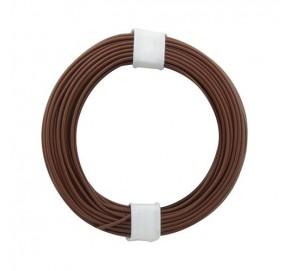 Fil de câblage brun 10m x 0,14mm² FC14BR