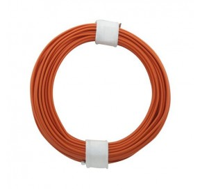 Fil de câblage orange 10m x 0,14mm² FC14O