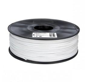 Bobine de 750 g de fil PLA blanc