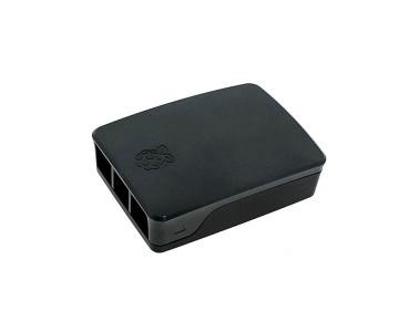 Boîtier noir pour Raspberry Pi 4B CASE-PI4B