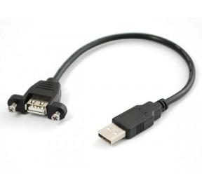 Câble USB pour façade