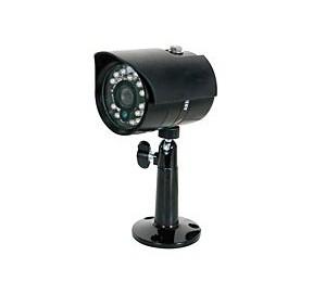 Caméra couleur réseau Plug & Play + IR CAMCOL