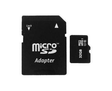 Carte microSD haute vitesse 32GB