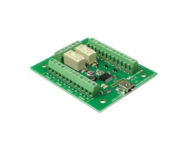 Carte USB 2 relais USB-RLY82