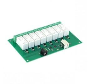 Carte USB à 8 relais de puissance USB-RLY16