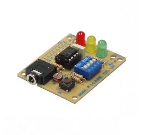 Circuit d'expérimentations pour PICAXE-08M2