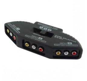 Commutateur audio-vidéo 3 canaux VMS6A