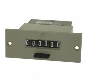 Compteur électromécanique 6 digits avec reset C8415
