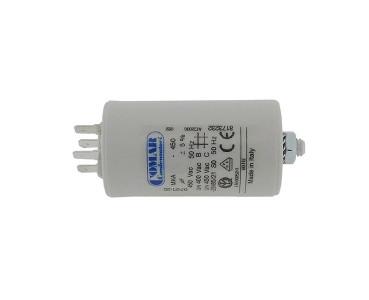 Condensateur de démarrage Moteur Condensateur 6µf 450 V 30x51mm Câble 35 cm Icar 6uf