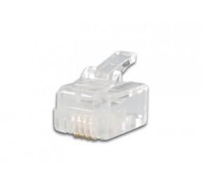 Connecteur modular 6 pôles - 4 contacts