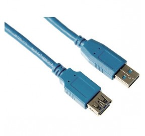 Cordon USB A mâle - A femelle
