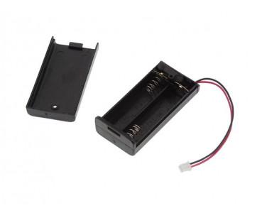 Coupleur 2 piles LR6 + inter BH10095