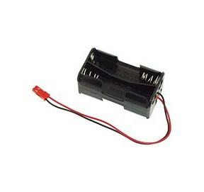 Coupleur 4 piles R6 à connecteur BEC