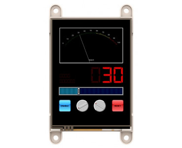 Ecran tactile 71mm gen4-uLCD-28PT-PI