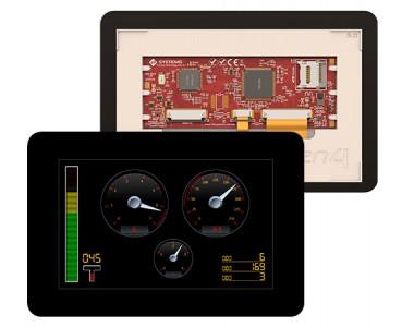 Ecran tactile 127mm gen4-uLCD-50DCT-CLB-PI