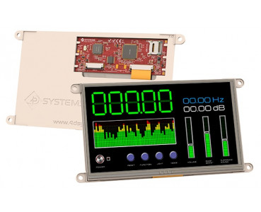 Ecran tactile 178mm gen4-uLCD-70DT-PI