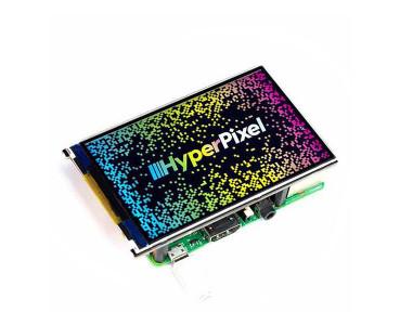 Ecran tactile HyperPixel 4.0 PIM369 (Raspberry Pi non inclus)