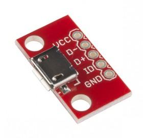 Embase à connecteur micro-USB