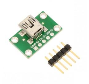 Embase à connecteur mini-USB 2593
