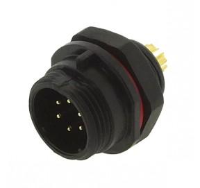 Embase mâle étanche 6 contacts FM686806