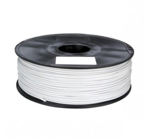 Bobine de fil 1,75 mm PLA blanc