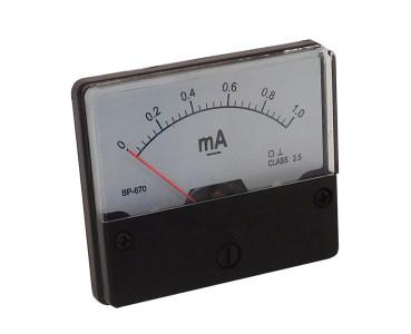 Galvanomètre série BP670-1mA