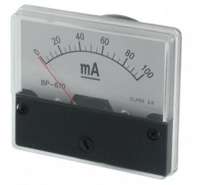 Galvanomètre série BP670-500mA