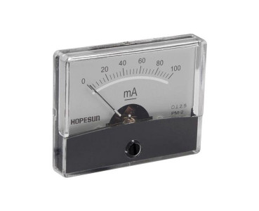 Galvanomètre série PM2-100 mA