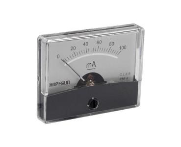 Galvanomètre série PM2-100mA