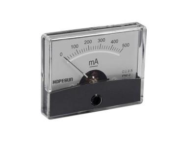 Galvanomètre série PM2-500 mA