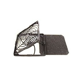 Grille + filtre pour ventilateurs 40 x 40 mm
