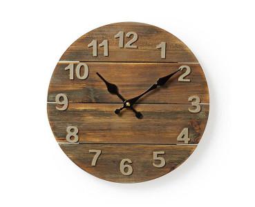 Horloge murale en bois WD30
