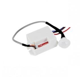 Mini détecteur 12 Vcc IR à encastrer PIR416