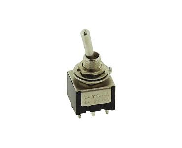 Pouvoir de coupure: 2 A/120 Vac ou 5 A/28 Vcc (charge résistive).