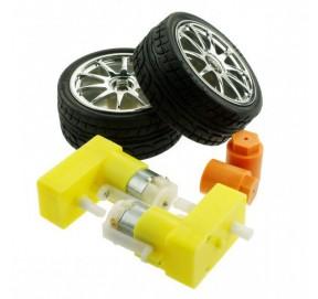 Kit 2 roues + moteurs