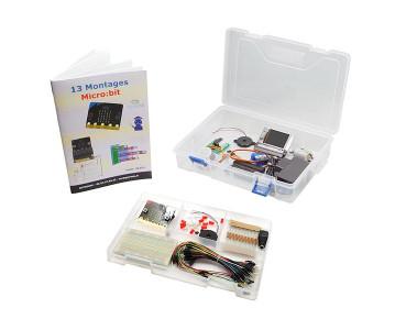 Kit débutant 13 montages Micro:bit