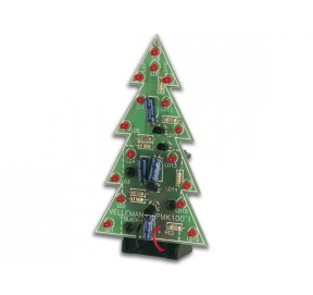 Sapin de Noël à LEDs clignotantes MK100